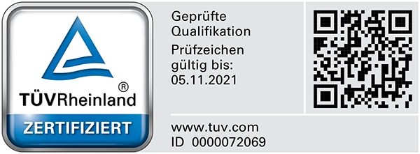 Qualified Persons for Damage to Buildings with TÜV Rheinland Certified Qualification